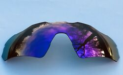 POLARIZED PURPLE MIRRORED REPLACEMENT OAKLEY RADAR EV PATH LENS amp; POUCH $27.49