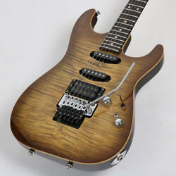 TOM ANDERSON Drop Top with Binding Light Tiger Eye Burst With Hard Case
