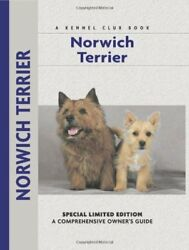 NORWICH TERRIER (COMPREHENSIVE OWNER'S GUIDE) By Alice Kane - Hardcover **NEW**