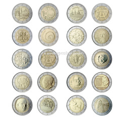 Rm All 2 Euro Commemorative From 2013 Unc - 20 Coins