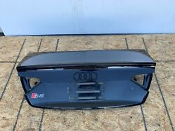 08-12 Audi A5 S5 B8 8t Convertible Trunk Lid Assembly Oem