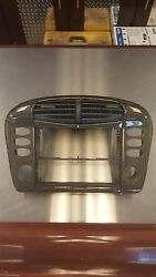 Porsche 986 996 Carbon Fiber Center Console Radio Climate Trim Vent