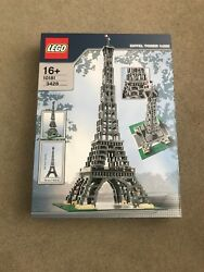 Lego Large Scale Models Buildings Eiffel Tower Brand New