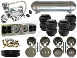 Universal Air Suspension Kit - Coil Spring Vehicles - Level 1 1/4