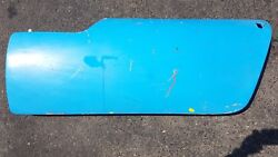 Lotus Elan S3 Oem Left Side Door And Latch And Other Attachments On Door Included