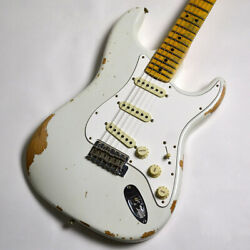Fender Custom Shop 1969 Stratocaster Relic White With Hard Case