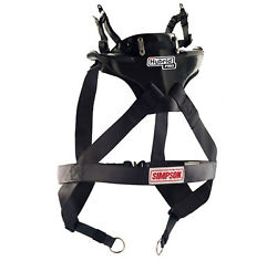 Simpson Hybrid Pro Lite Carbon Fia Approved Fhr Racing/race/rally/track - Large