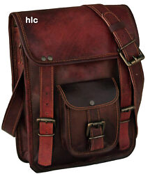 Bag Leather Vintage Messenger Shoulder Men Satchel S Laptop School Briefcase New $35.99