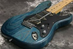 SCHECTER AC-SF SIG Pacific Blue Tint 2009 Made in Japan With Hard Case