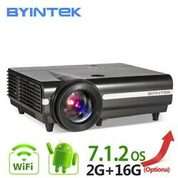 Byintek Moon Bt96plus Android Wifi Smart Video Led Projector Proyector For Home