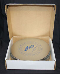 Vintage Ebay Live Pin Container With 2005 10 Year Pin New In Box Round Tin Metal