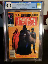 Star Wars: Return of the Jedi #2 CGC 9.2 - OWNED BY CARRIE FISHER!!