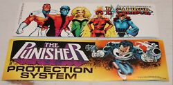 Excalibur And Or The Punisher, Comic Images Marvel Promo Bumper Sticker 1990, Gift