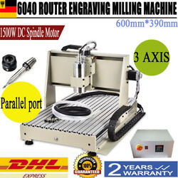 3AXIS ENGRAVER Parallel 6040 ROUTER ENGRAVING DRILLING WOOD MILLING MACHINE 220V