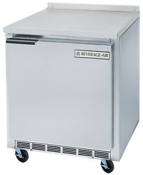 Beverage-air Wtr27ahc 6.13 Cuft 27 Wide One Section Work-top Refrigerator