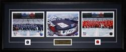 2014 Winter Classic Toronto Maple Leafs Detroit Red Wings 3 Photo Hockey Frame