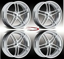 17 Boost Pro Wheels Rims Billet Forged Foose Us Line American Intro Staggered