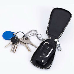 1Pcs Zipper Key Wallet Key Ring Bag With Genuine Leather New Style Popular HS1