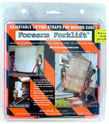 Forearm Forklift L74995cn Lifting Straps For Moving - Quantity 12