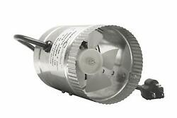 Hydroplanet 4 Inch Duct Booster FanExhaust Fan High Cfm 4 65-100 Cfm (4 In...