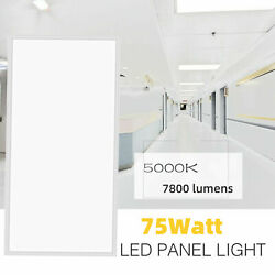 24 Pack 2x4 FT 60W LED Panel Light 0-10V Dimmable 6000LM 5500K Daylight Hanging