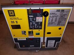Square D 800 Amp Ds508 Lig Low Voltage A/c Power Circuit Breaker Used