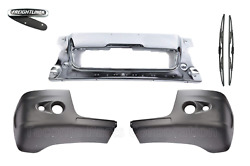 Freightliner Century Bumper Corner With Two Holes And Chrome Front Bumper