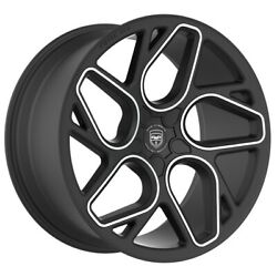 4 Gwg Bremen 20 Inch Stagg Satin Black Machine Rims Fits Cadillac Cts Coupe Rwd