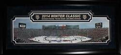 2014 Winter Classic Toronto Maple Leafs Detroit Red Wings Deluxe Panorama Frame