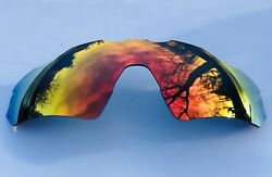 POLARIZED FIRE RED MIRRORED REPLACEMENT OAKLEY RADAR EV PATH LENS amp; POUCH $27.49