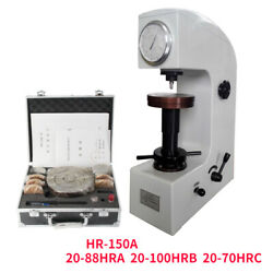 Hr150a Rockwell Hardness Tester Metal Surface Manual Hardness Testing Machine Y