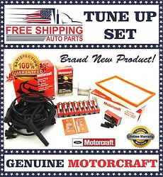 Complete Motorcraft Tune Up Kit 1996-1997 Crown Victoria Town Car Grand Marquis