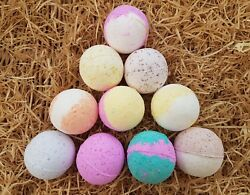 BATH BOMBS 10 X 80 GRAM MIXED FRAGRANCES PERFECT SIZE EBAY SHOP FOR MORE OFFERS
