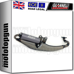 Giannelli Full System Exhaust Race Extra V2 Sym Jet 50 Euro X 2003 03 2004 04