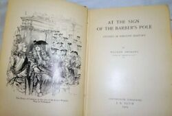 At The Sign Of The Barberand039s Pole By William Andrews Hc 1904 Illustrated