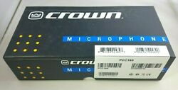 Crown PCC160 Surface Mount Boundary Microphone in Black New in box