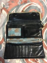 Trifold Hobo Wallet $75.00