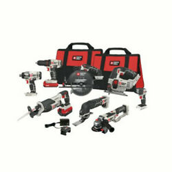Porter-cable Pcck6118 Lithium-ion Cordless Combo Kit