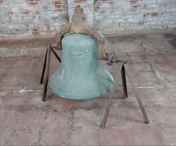 Jersey City NJ 1886 Plantation Bronze Bell - F. A. William & Son Foundry
