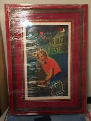 2007 New Orleans Jazz And Heritage Jazz Festival Poster C Marc