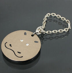 Hermes Bag Charm Key Chain Hippo #44848 free shipping from Japan