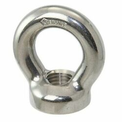 Wichard Ring Nut Forged Stainless Steel Aisi 305cu M8 X 17mm D
