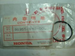 Nos Honda Atc 250 110 200 125 R Rr Axle O-ring 91355-943-000 New Oem