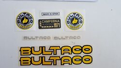 Bultaco Sherpa Kit Campeon Decals Gas Tank New Decals Sherpa Kit Campeon New