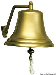 Marco Gloss-polished Bronze Bell Boat Marine 300mm