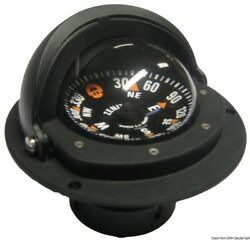 Riviera Boat Marine High Speed Compass 3 80mm Black Flat Rose Wrap-around Cover
