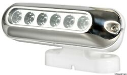 Osculati Uv-resistant Led Spotlight With Adjustable Support 30w