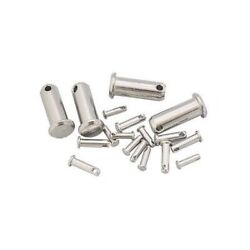 Clevis Pin Stainless Steel Aisi 316 1.4401 5mm X 11mm X100 Pcs