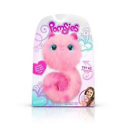 Blossom Pink Pomsies Pom Pom Plush Interactive Pets Toys Brush Included New