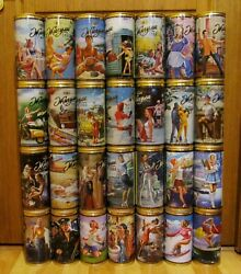 Zhiguli Russia Pin-up Empty Beer Cans Collection 29 Pcs
